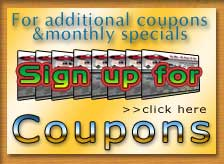 Sign up for additional coupons and monthly savings