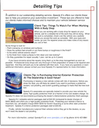 Preview of Fall 2009 Newsletter