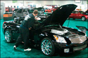 Shows & Events Images: Black Cadillac Sport