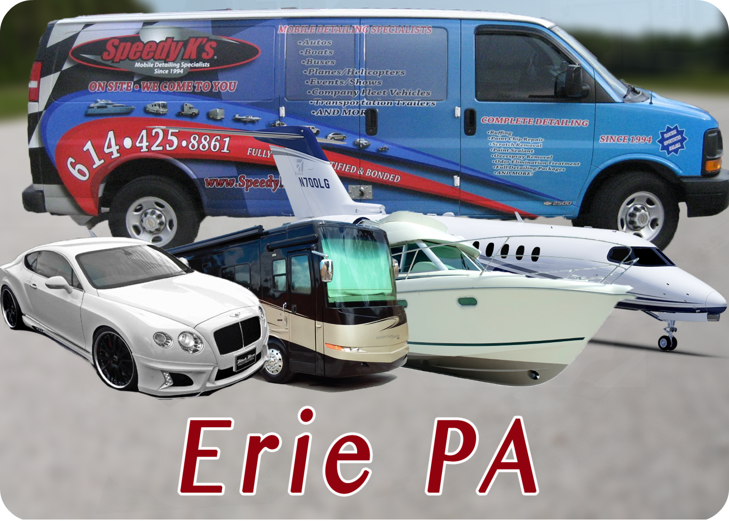 Erie PA Detailing and Car Cleaning
